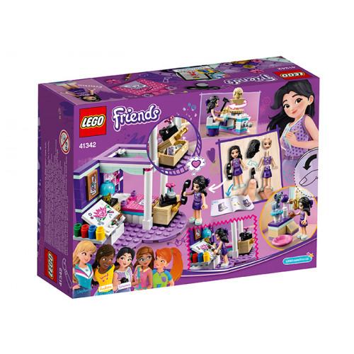 LEGO Friends 41342, Dormitorul de lux al Emmei