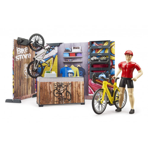 Magazin si atelier de biciclete, Bruder 63120
