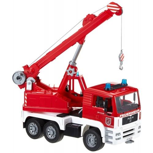 Camion de pompieri cu macara Bruder 02770