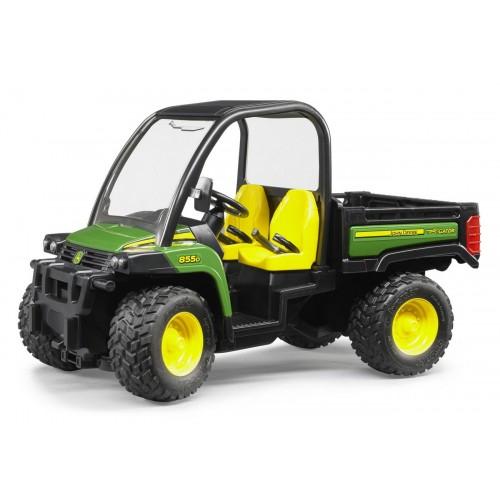 Masina de teren John Deere Gator XUV 855D, Bruder 02491