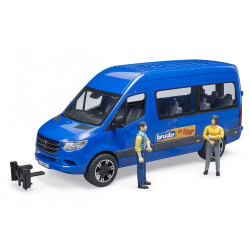 Microbuz MB Sprinter cu sofer si pasager, Bruder 02670