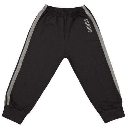 Pantaloni trening, negru grafit-gri