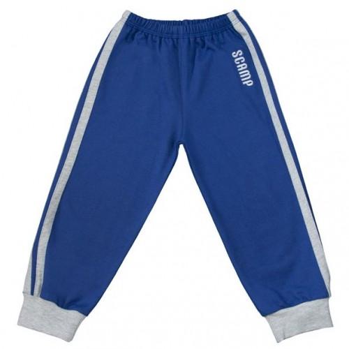 Pantalon trening albastru-gri