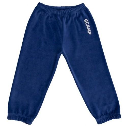 Pantalonas din plus, albastru inchis