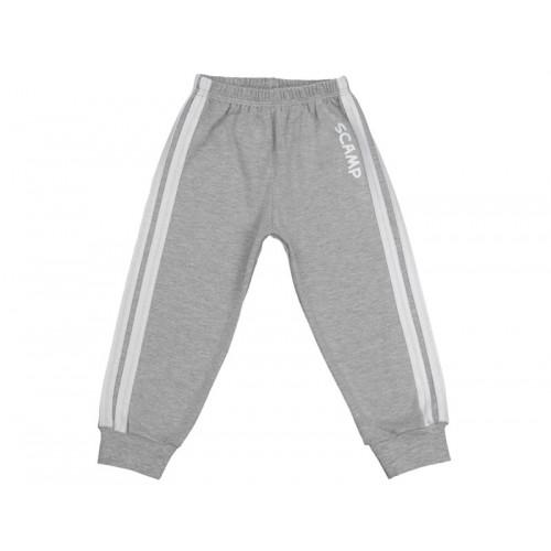 Pantaloni trening cu elastic in talie gri