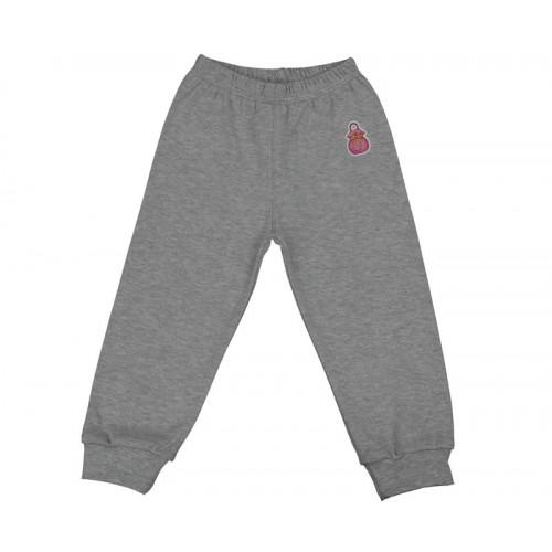 Pantalonaşi cu elastic în talie gri