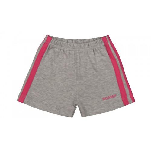 Pantaloni scurti pentru fete, gri, RSI173