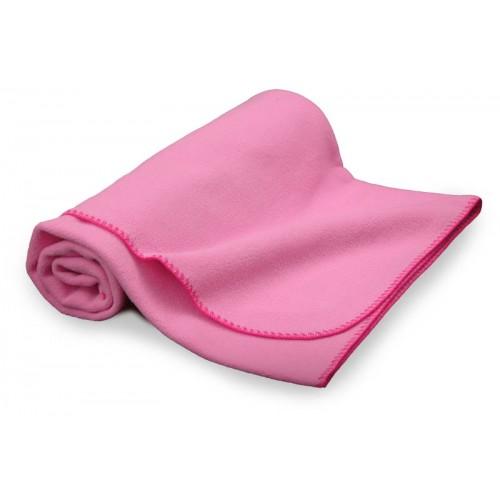 Pătură bebeluş din polar/Roz