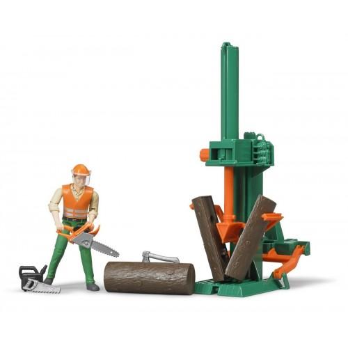 Set muncitor forestier, Bruder 62650
