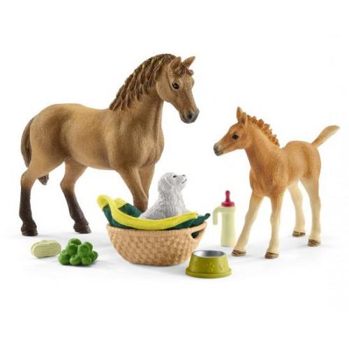 Set de ingrijire pentru animale, Horse Club, Schleich 42432