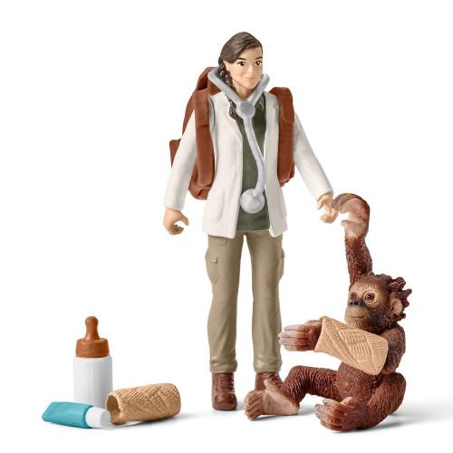 Set figurine Schleich 42353, Vaterinar la munca
