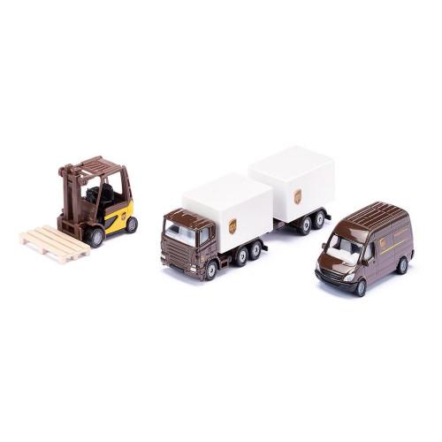 Set logistica UPS, Siku 6324