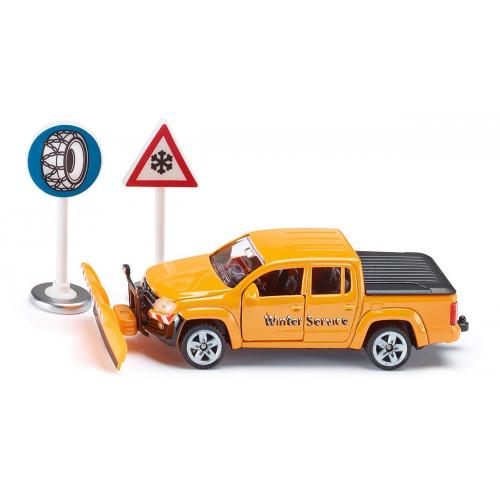 Set Volkswagen Amarok - Winter Service, Siku 2546