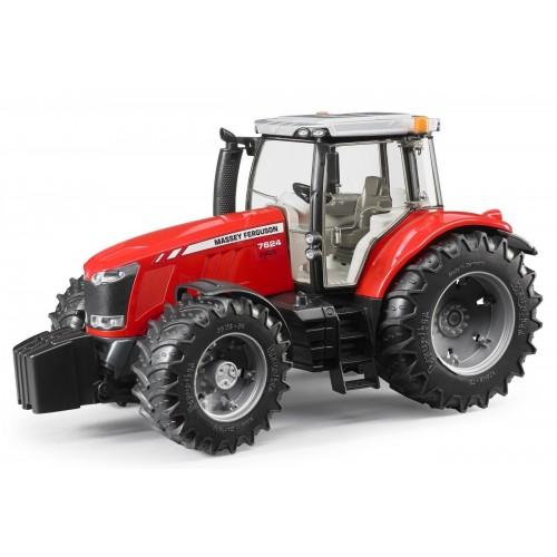 Tractor Bruder 03046, Massey Ferguson 7600