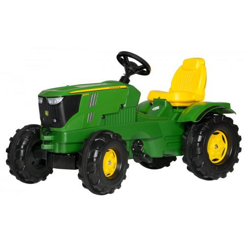 Tractor cu pedale Rolly Toys 601066, rollyFarmtrac John Deere 6210R