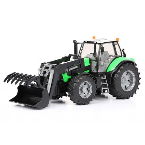 Tractor Deutz Agrotron X720 cu incarcator frontal, Bruder 03081