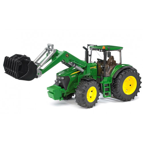 Tractor John Deere 7930 cu incarcator, Bruder 03051