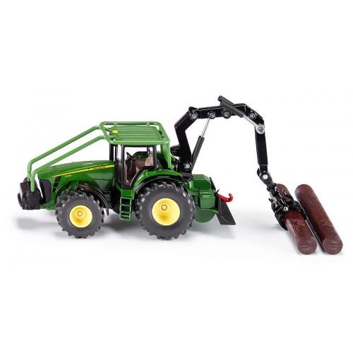 Tractor John Deere forestier Siku 1:50