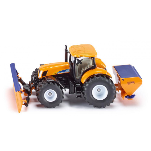 Tractor New Holland cu lama de zapada, Siku 2940