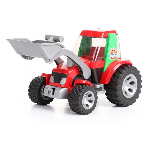 Tractor Roadmax cu incarcator, Bruder 20102