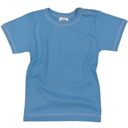 Tricou copii cu maneca scurta, albastru