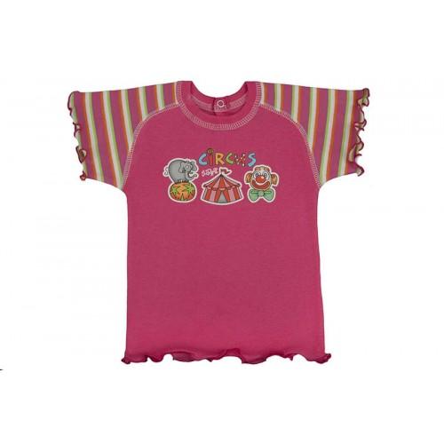Tricou cu mânecă scurtă raglan/PO21