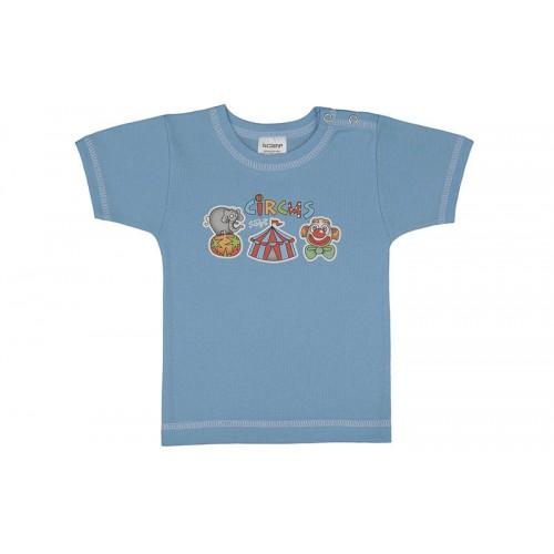 Tricou cu capsă simplă la urmăr/PO19