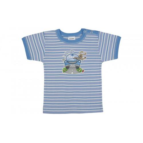 Tricou cu capsă simplă la urmăr/PO22