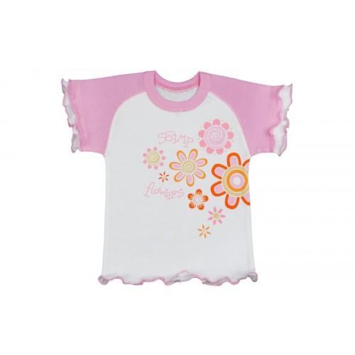 Tricou cu mânecă scurtă raglan/PO20