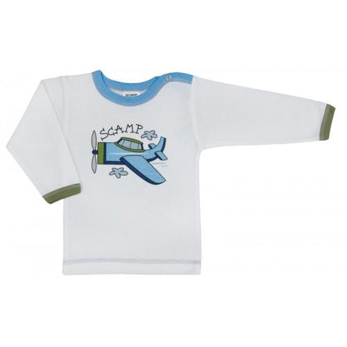 Tricou cu capsă simplă la umăr/Basic