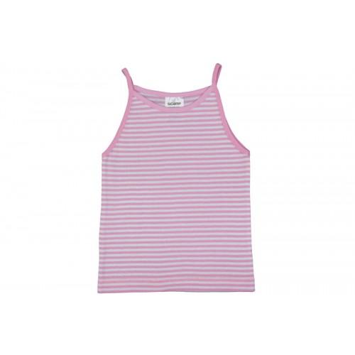 Tricou fetiţe cu brețele subţiri/PO42