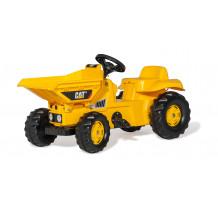 CAT Dumper cu pedale, Rolly Toys 024179