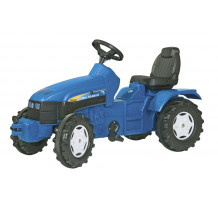 Tractor cu pedale Rolly Toys, New Holland TD 5050