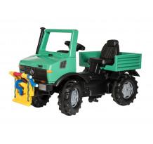 Rolly Toys Unimog Forst cu troliu