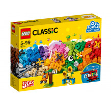 LEGO Classic, Caramizi si roti variate, 10712