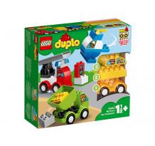 LEGO DUPLO, Primele mele Masini Creative 10886