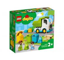 LEGO DUPLO Town - Autogunoiera si reciclare 10945, 19 piese