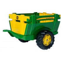 122103 - Remorca Rolly Toys, remorca John Deere, rollyFarm Trailer