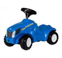 Tractor fara pedale Rolly Toys, New Holland T 6010