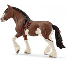 Figurina Schleich 13809, iapa Clydesdale