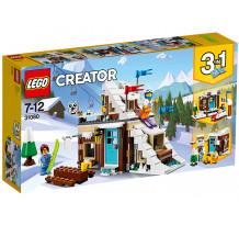 LEGO Creator, Vacanta de iarna modulara, 31080
