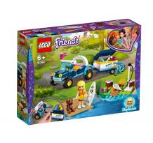 LEGO Friends, Vehiculul cu remorca al Stephaniei, 41364
