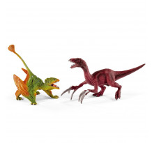 Figurina Schleich 41425, Set Dimorphodon si Therizinosaur, mic