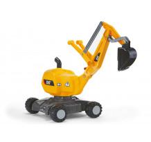 Excavator cu roti Rolly Toys 421015, Caterpillar