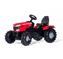601158 - Tractor cu pedale Rolly Toys, Massey Ferguson 7726
