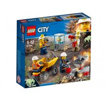 LEGO City, Mining Echipa de minerit, 60184