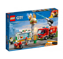 LEGO City, Stingerea incendiului de la Burger Bar, 60214