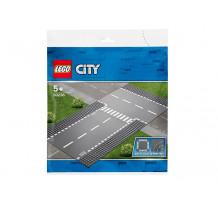 LEGO City, Intersectie dreapta si în T, 60236