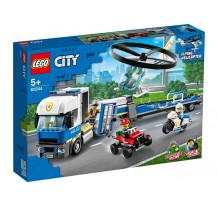 LEGO City Police - Transportul elicopterului de politie 60244