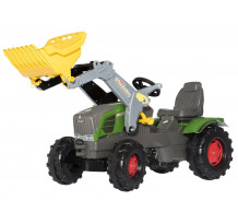 Tractor cu pedale Rolly Toys, Fendt 211 Vario cu incarcator frontal